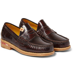 Visvim Fabro Leather Penny Loafers