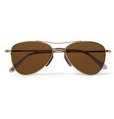 Eyevan 7285 Metal Aviator Sunglasses