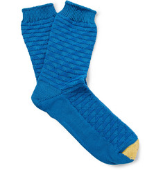 Anonymous Ism Diamond-Knit Socks