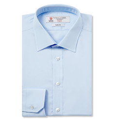 Turnbull & Asser - Blue Cotton Shirt
