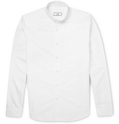 AMI Slim-Fit Button-Down Collar Cotton Shirt