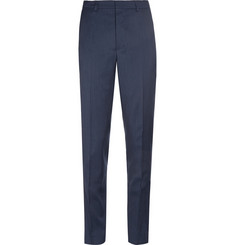 AMI Slim-Cut Wool Trousers