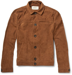 Oliver Spencer Suede Shirt Jacket