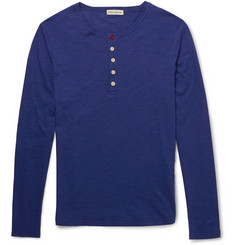 Oliver Spencer Cotton Henley T-Shirt