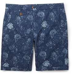 Oliver Spencer Floral-Print Cotton Shorts