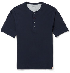 Paul Smith Shoes & Accessories Cotton-Jersey Lounge Henley T-Shirt