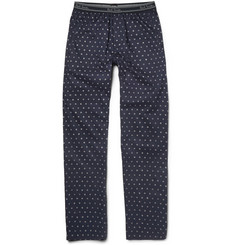 Paul Smith Shoes & Accessories Printed Cotton Pyjama Trousers