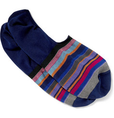 Paul Smith Shoes & Accessories Striped Cotton-Blend Loafer Socks