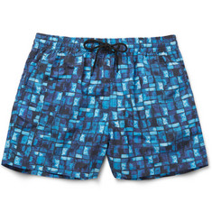 Paul Smith Shoes & Accessories Mid-Length Printed Swim Shorts