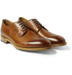 Paul Smith Shoes & Accessories Ernest Burnished Leather Derby Shoes