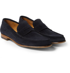Paul Smith Shoes & Accessories Casey Suede Penny Loafers