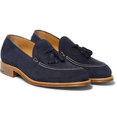 O'Keeffe Excalibur Suede Tassel Loafers
