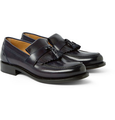 O'Keeffe Cambridge Fringed Leather Loafers
