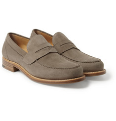 O'Keeffe Cambridge Suede Penny Loafers