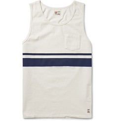 M.Nii Dana Point Striped Cotton-Jersey Tank