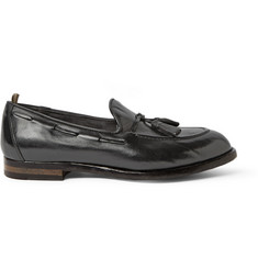 Officine Creative Ivy Leather Tassel Loafers