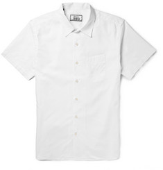 Officine Generale Cotton-Pique Shirt