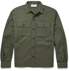 Officine Generale Cotton-Twill Overshirt