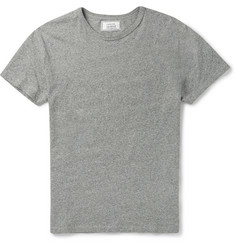 Officine Generale Marled-Cotton T-Shirt