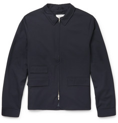 Officine Generale Storm System Slim-Fit Wool Bomber Jacket