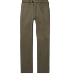 cb0b8fae5c8 Officine Generale New Fisherman Cotton-Twill Chinos