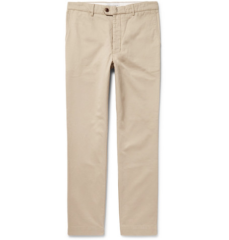 New Fisherman Cotton-twill Chinos - Sand