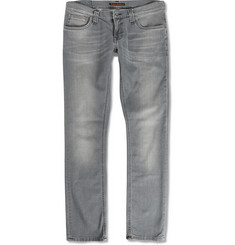 Nudie Jeans Slim-Fit Long John Organic Denim Jeans