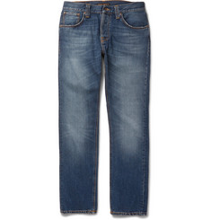 Nudie Jeans Steady Eddie Washed Organic Denim Jeans