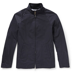 Mackintosh Whitecross Bonded-Cotton Bomber Jacket