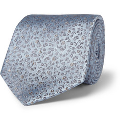 Paul Smith Shoes & Accessories Patterned Silk-Satin Tie