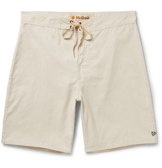 Mollusk Pennant Cotton-Blend Boardshorts