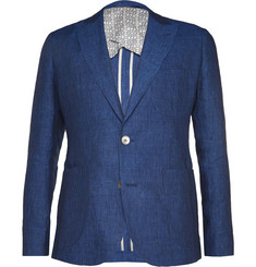 Hardy Amies Slim-Fit Linen Blazer