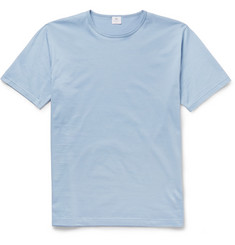 Sunspel Crew Neck Cotton-Jersey T-Shirt