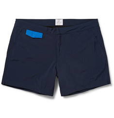 Sunspel Contrast-Pocket Short-Length Swim Shorts