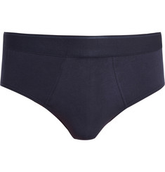 Sunspel Cotton-Blend Briefs