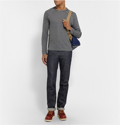 Todd Snyder Striped Cotton and Linen-Blend T-Shirt
