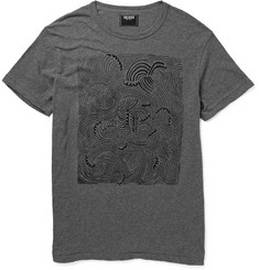 Todd Snyder Printed Cotton-Jersey T-Shirt