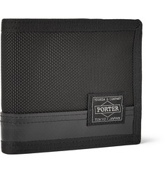Porter-Yoshida & Co Nylon and Leather Billford Wallet