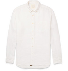 Billy Reid Johnathon Button-Down Collar Linen Shirt