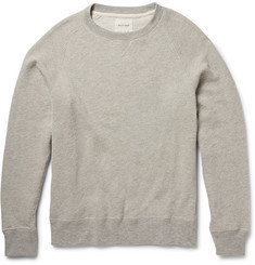 Billy Reid Textured Cotton-Blend Sweatshirt