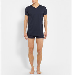Zimmerli Stretch Cotton And Modal-Blend Jersey Boxer Briefs