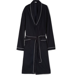 Zimmerli Waffle-Knit Cotton Dressing Gown