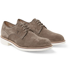 Tod's Suede Derby Shoes