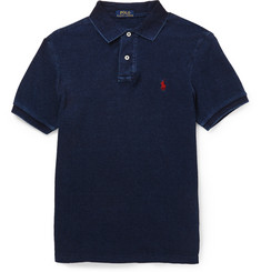 Polo Ralph Lauren Washed Cotton-Piqué Polo Shirt