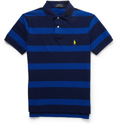 Polo Ralph Lauren Striped Cotton-Pique Polo Shirt