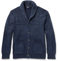 Polo Ralph Lauren Textured Cotton Shawl-Collar Cardigan