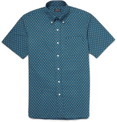 Polo Ralph Lauren Diamond-Print Cotton Shirt