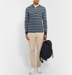 Polo Ralph Lauren Striped Cotton-Jersey Henley T-Shirt