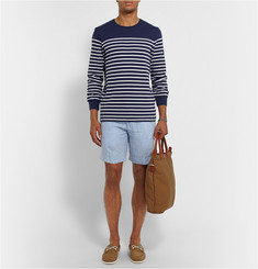 Polo Ralph Lauren Striped Cotton-Blend Sweater