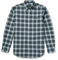 Polo Ralph Lauren Button-Down Collar Checked Cotton Shirt